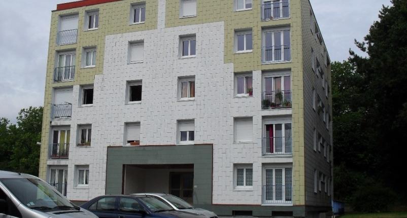 Travaux en cours : Réhabilitation de 60 logements sis rue Maréchal Leclerc à Douarnenez