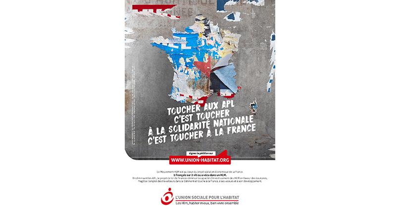 Campagne nationale « Toucher aux APL… »
