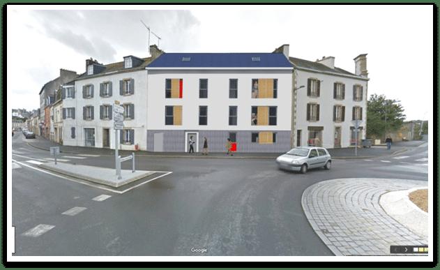Construction de 5 logements – 6 rue Pasteur à Douarnenez