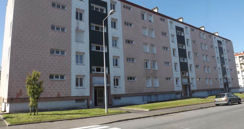 Démolition Bâtiment I Quartier de Kermarron à Douarnenez