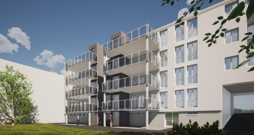 Projet de réhabilitation de la résidence située 19 et 19 bis rue Ernest Renan à Douarnenez